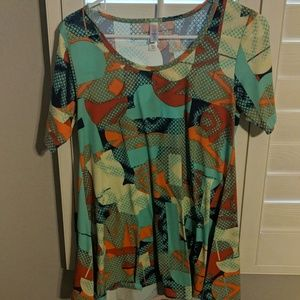 Multi color lularoe Irma